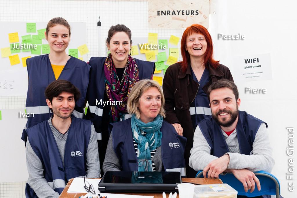 Les Enrayeurs (équipe bleue), Gare Remix St Paul - Lyon, France - 24.04.2015