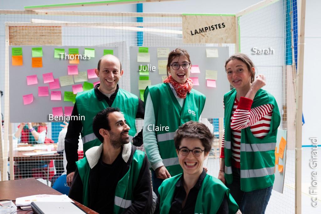 Les Lampistes (équipe verte), Gare Remix St Paul - Lyon, France - 24.04.2015